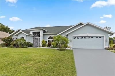 Cape Coral Single Family Home For Sale: 1409 SW 18th Terrace