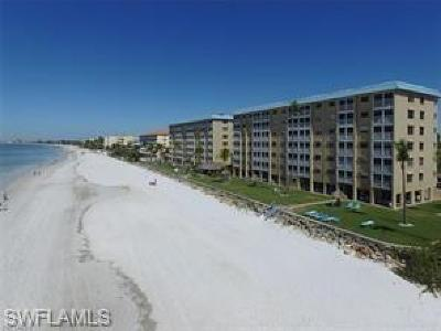 Fort Myers Beach Condo/Townhouse For Sale: 5100 Estero Boulevard #3A5