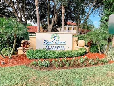 Fort Myers Condo/Townhouse For Sale: 11511 Villa Grand #522
