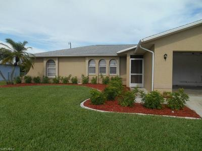 Cape Coral Single Family Home For Sale: 2829 SE 8th Ave