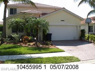 Fort Myers Single Family Home For Sale: 14458 Reflection Lakes Dr