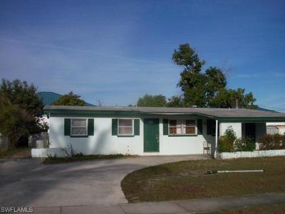 Fort Myers Single Family Home For Sale: 3530 Glenn Dr