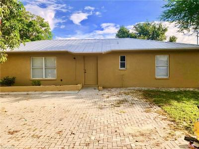Immokalee Single Family Home For Sale: 1402 Tangerine St