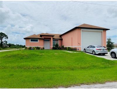 Lehigh Acres Single Family Home For Sale: 3601 13th St SW