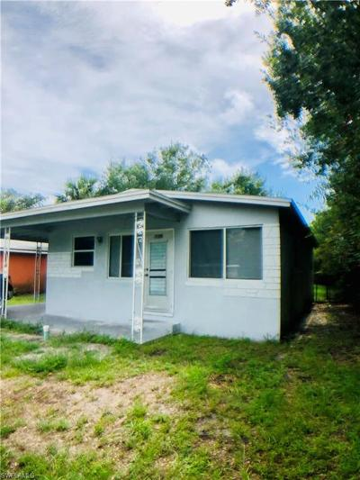 Fort Myers Single Family Home For Sale: 1162 Rose Ave