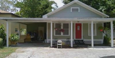 Fort Myers Single Family Home For Sale: 2225 Jeffcott St