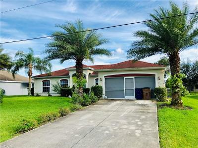 Lehigh Acres Single Family Home For Sale: 2909 40th St SW