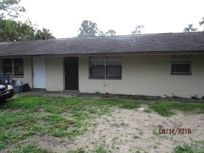 Fort Myers Multi Family Home Pending With Contingencies