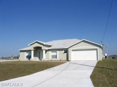 Cape Coral Single Family Home Pending With Contingencies: 1313 NW 10th St