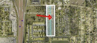 Fort Myers Commercial For Sale: 9820-9860 Orange River Blvd