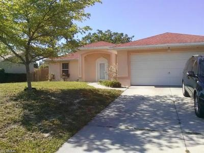Cape Coral Rental For Rent: 514 SW 26th Ter