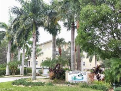 Fort Myers Condo/Townhouse For Sale: 10011 Lake Cove Dr #102