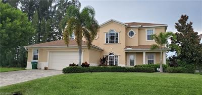 Cape Coral Single Family Home For Sale: 511 NE 17th Ter