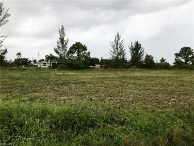 Lee County Residential Lots & Land For Sale: 3713 NE 13th Ave