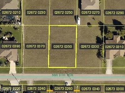 Lee County Residential Lots & Land For Sale: 109 NW 9th Ter