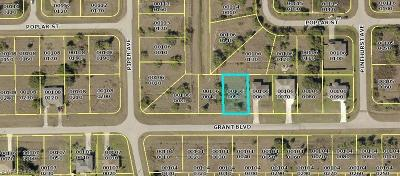 Lee County Residential Lots & Land For Sale: 409 Grant Blvd