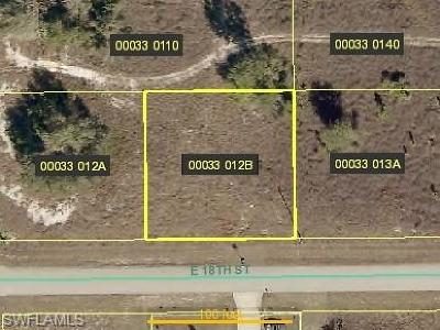 Lee County Residential Lots & Land For Sale: 4303 E 18th St