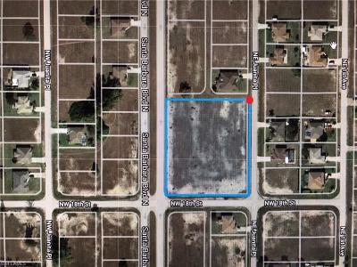 Lee County Residential Lots & Land For Sale: 1807 Santa Barbara Blvd N