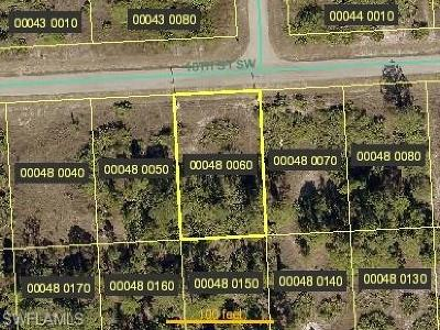 Lee County Residential Lots & Land For Sale: 3309 16th St SW