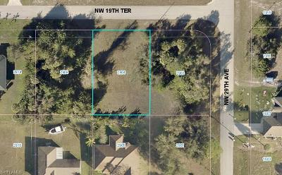 Lee County Residential Lots & Land For Sale: 2904 NW 19th Ter