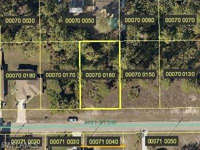 Lee County Residential Lots & Land For Sale: 3710 41st St SW