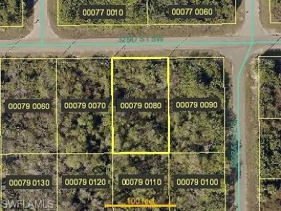 Lee County Residential Lots & Land For Sale: 3111 32nd St SW