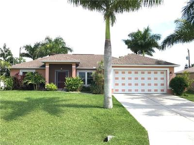 Cape Coral Single Family Home For Sale: 1923 NE 18th St