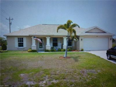 Cape Coral Single Family Home For Sale: 1600 NW 7th Ave