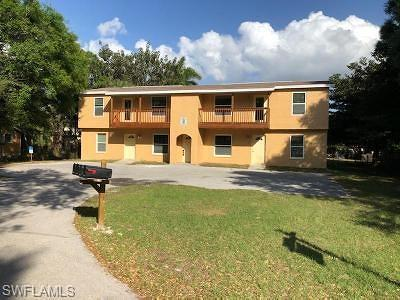 Fort Myers Multi Family Home For Sale: 1161 Poinciana Ct #101