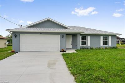 Cape Coral Single Family Home For Sale: 1237 NW 19th Ter