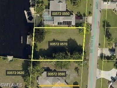 Cape Coral Residential Lots & Land For Sale: 3728 SE 16th Pl