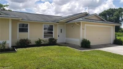 Cape Coral Single Family Home Pending With Contingencies: 710 NE 24th Ter