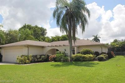 Fort Myers Single Family Home For Sale: 1440 Claret Ct
