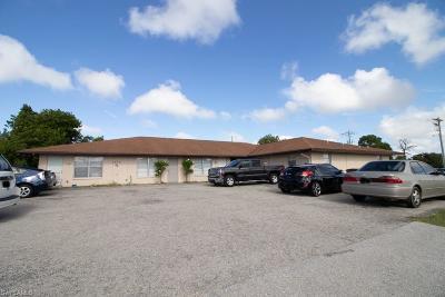 Cape Coral Multi Family Home For Sale: 1904 Santa Barbara Boulevard #1-6