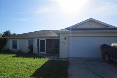 Fort Myers Single Family Home For Sale: 6105 Hutton Ct
