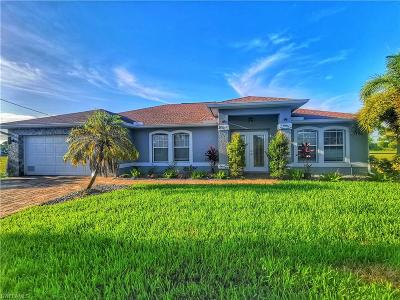 Cape Coral Single Family Home For Sale: 2836 NW 25th Terrace