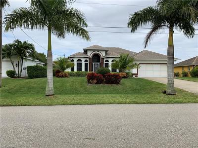 Cape Coral Single Family Home For Sale: 2523 SW 30th Street