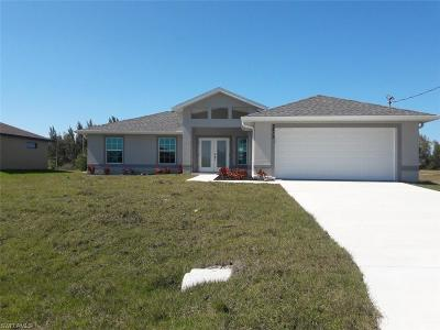 Cape Coral Single Family Home For Sale: 2212 NW 42nd Pl