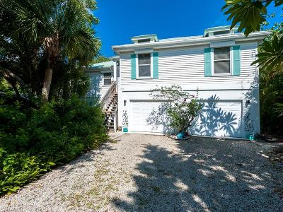 Sanibel FL Single Family Home For Sale: $599,000