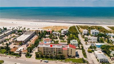 Fort Myers Beach Condo/Townhouse For Sale: 6100 Estero Blvd #2A