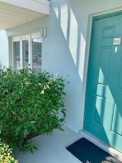 North Fort Myers Condo/Townhouse For Sale: 3326 N Key Drive #3