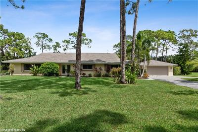 Fort Myers Single Family Home For Sale: 13502 Brynwood Lane