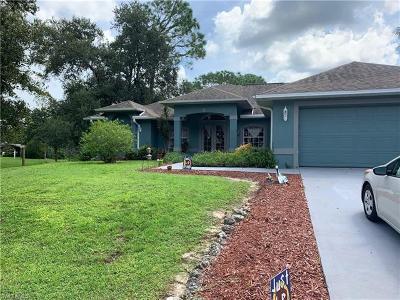 Alva Single Family Home For Sale: 2321 Webster Rd