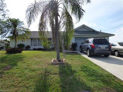 Cape Coral FL Single Family Home For Sale: $159,900