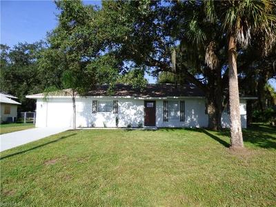 Labelle FL Single Family Home For Sale: $149,900