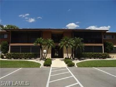 North Fort Myers Condo/Townhouse For Sale: 5716 Foxlake Drive #8