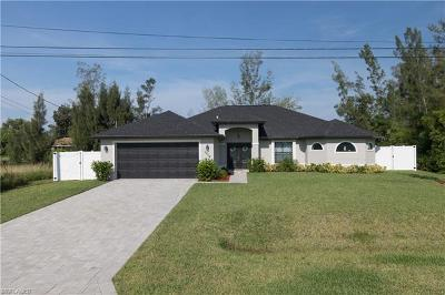 Cape Coral Single Family Home For Sale: 1214 SW 11th Place
