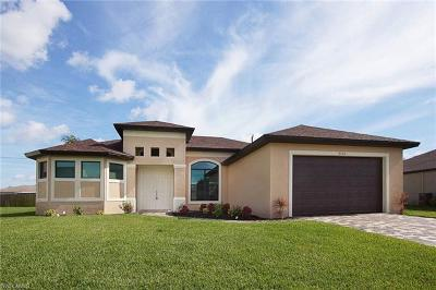 Cape Coral Single Family Home For Sale: 3700 NW 3rd St