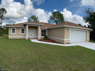 Lehigh Acres Single Family Home For Sale: 3310 W 24th Street