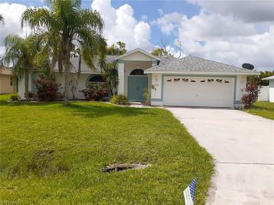 Lehigh Acres Single Family Home For Sale: 2509 7th St W